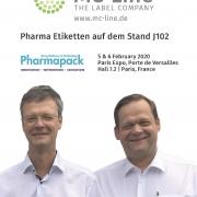 MC-Line Stand 102 auf Pharmapack 2020