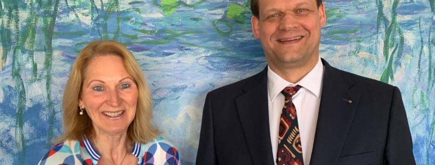 Top-Label Geschäftsführer Anke Hoefer und Robert Mägerlein