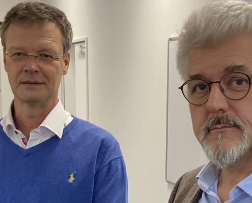 Joachim Heise und Dietrich Mägerlein